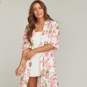 Show me your mumu Brie garden bridesmaid robe